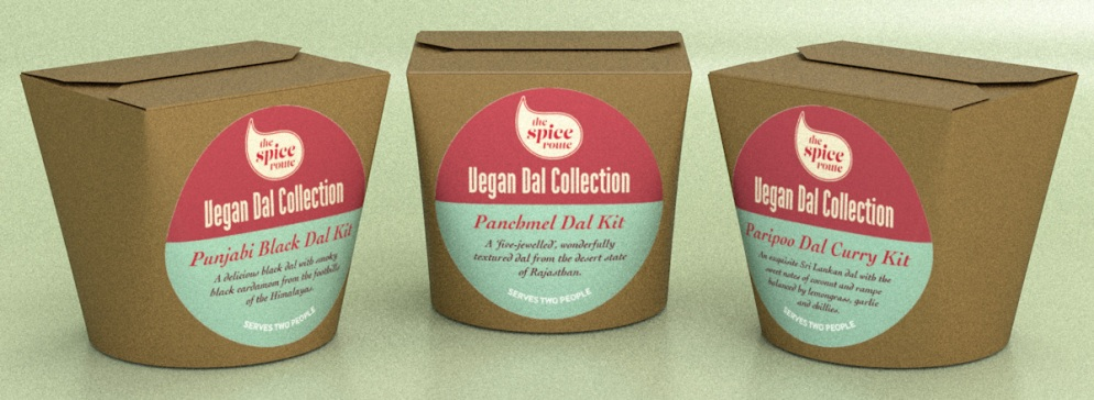 The Spice Route Vegan Dal Kits
